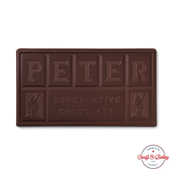 Peter's Burgundy Dark Baking Chocolate Block, Semisweet Baking Chocolate, 51% Cocoa from Uniquely Flavored Beans