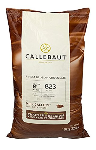 Callebaut 823 Milk Chocolate Callets
