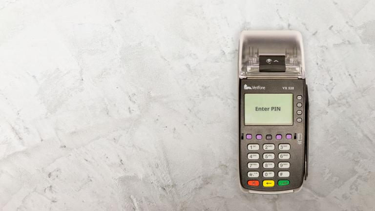 Verifone Vx520 EMV Contactless Credit Card Terminal with Wells 350 ...