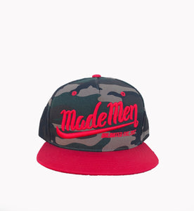 Made Men Unlimited Camo Snapback