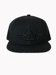 Made Men Unlimited Black on Black Snapback