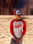 Red/White Made Men Unlimited Baseball Tee