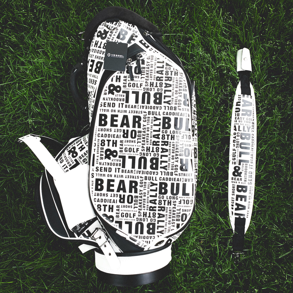 "Vessel x CaddieAi - Celebrity Tour Use Only ""Street Bull"" Staff Bag"