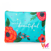 Hola Beautiful Oversized Pouch - Vive Cosmetics