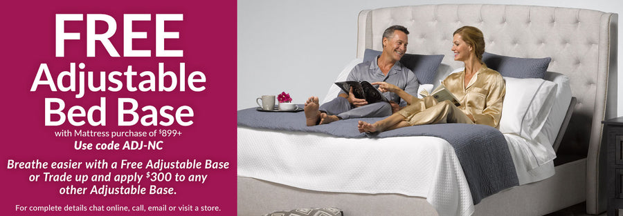 Free Adjustable Bed Base Collection Phone Banner