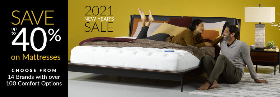 Save up to 40% on Mattresses Collection Phone Banner