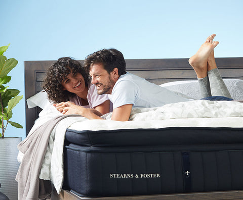 couple on a mattress in buffalo new york