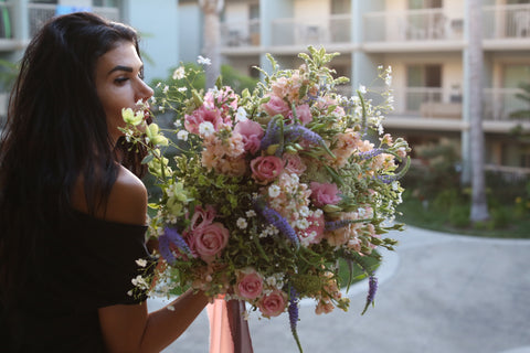 Professional flowers bouquet from florist Mariana del Rey