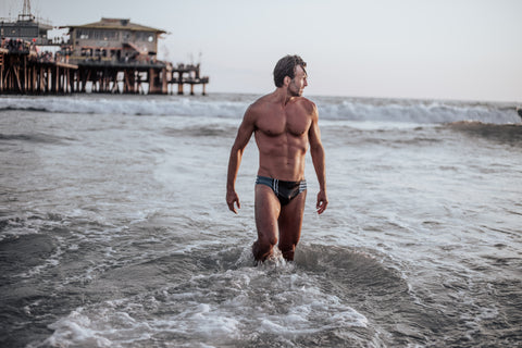 Mens swimwear takes a sophisticated approach