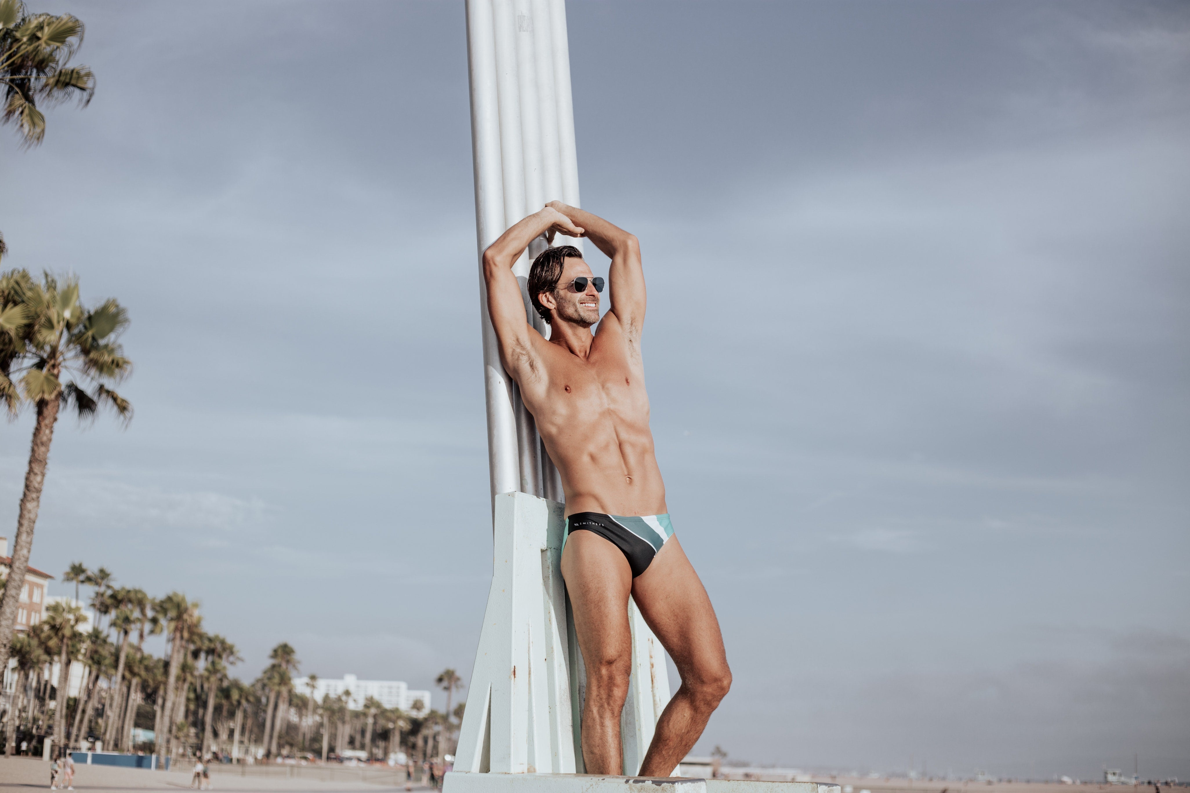 mens swimwear by Smithers swimwear