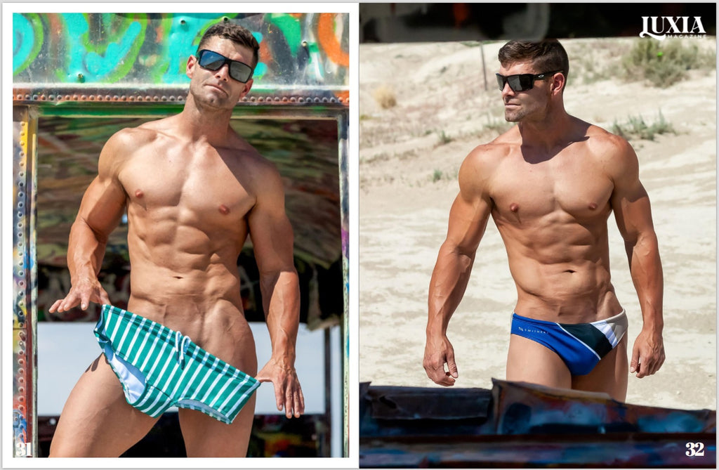 Smithers Swimwear photographed by Blake Yalevich for Luxia Magazine