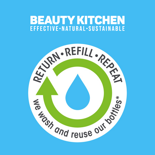 Beauty Kitchen return refill repeat scheme