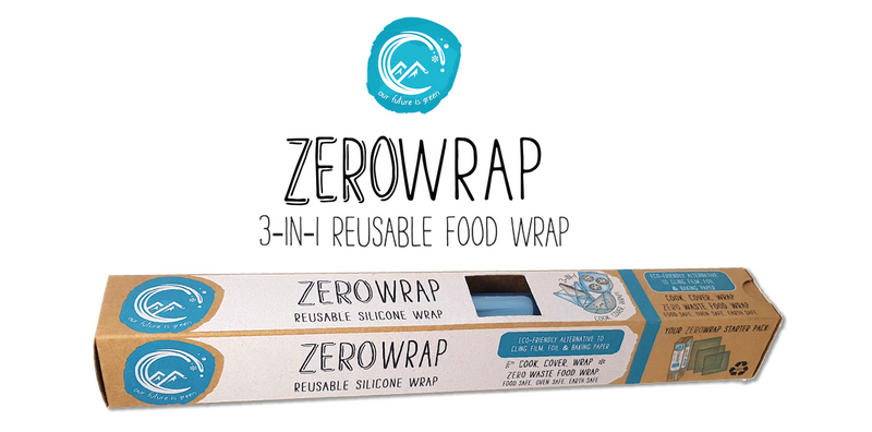 Introducing... Zero Wrap! Reusable Alternative To Cling Film, Foil & Baking Paper.
