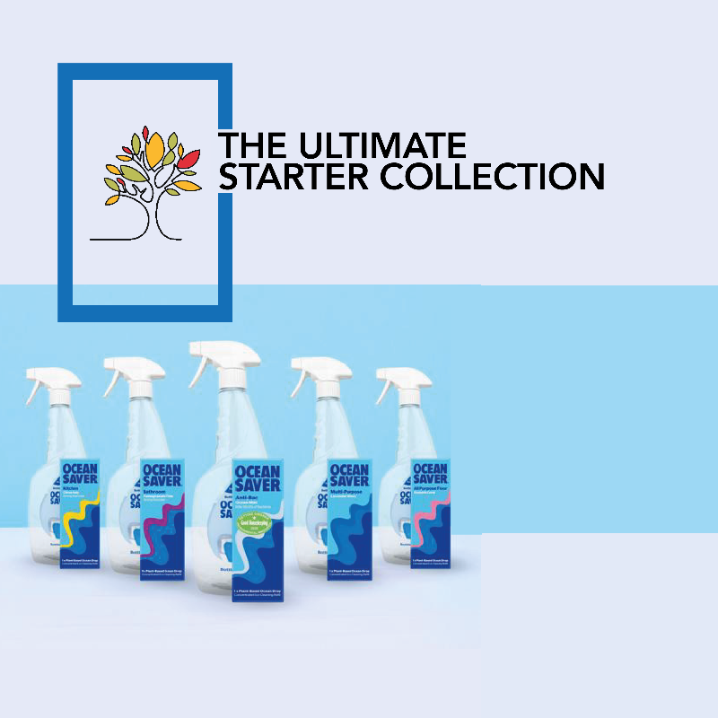 The Ultimate Starter Collection OceanSaver multi buy save eco friendly refillable cleaning spray bottles zero waste
