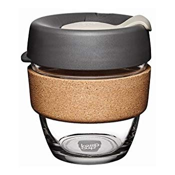 KeepCup Cork Series Glass Coffee Cup - (8oz)