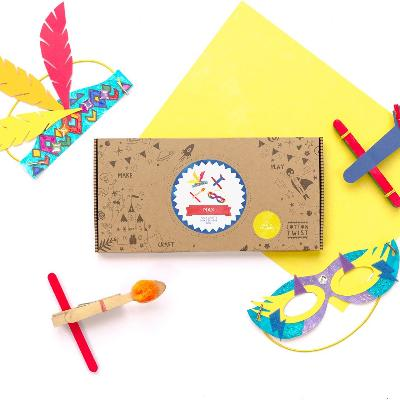 Adventurers Craft Kit Activity Box | Cotton Twist
