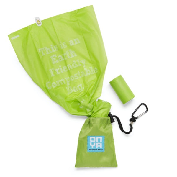 compostable eco friendly dog waste poo bags onya