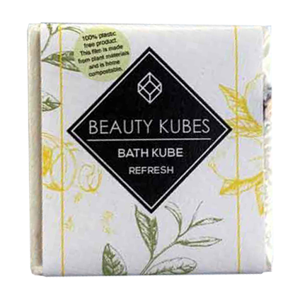 Beauty Kubes bath kube plastic free - refresh