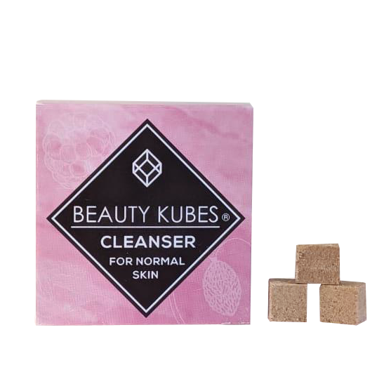 Beauty Kubes plastic free face cleanser