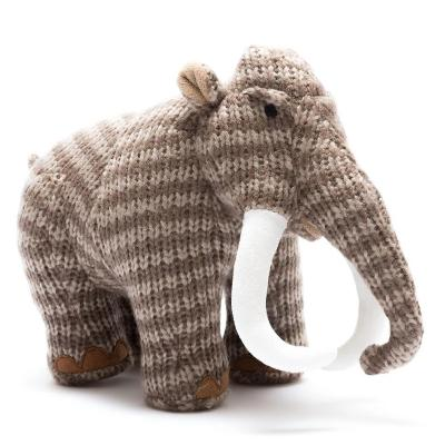 Knitted Woolly Mammoth Toy | Best Years