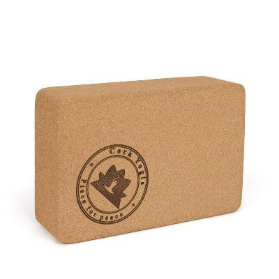 Natural Cork Yoga Block | Cork Yogis