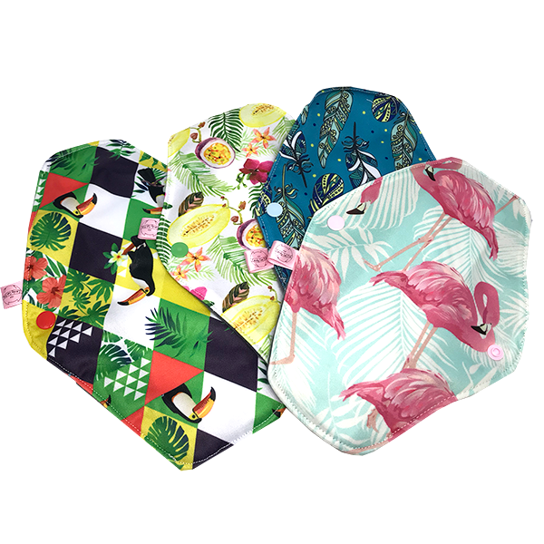 Reusable Sanitary Pads - Standard Flow | Candy Cat Pins