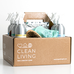 Clean Living cleaning kit refillable zero waste