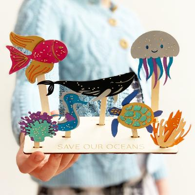 Save Our Oceans Craft Kit | Cotton Twist