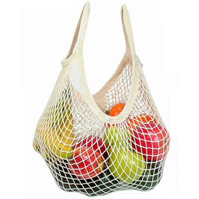 Ecobags Natural String Tote Bag - Short Handle