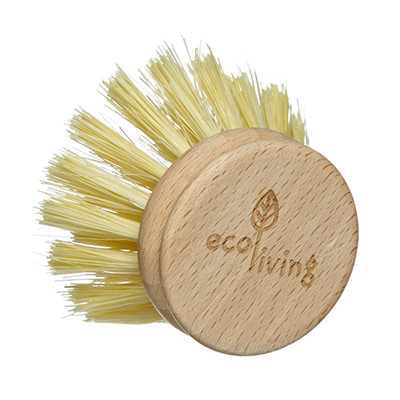 Wooden Dish Brush Replacement Head | EcoLiving