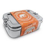 Large Reusable Stainless Steel Lunch Box | Elephant Box