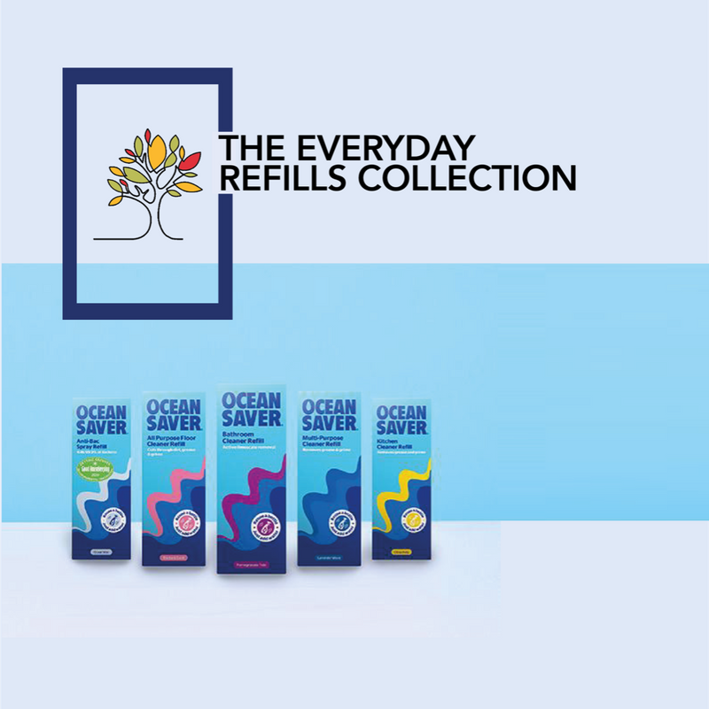 oceansaver 5 pack everyday refills collection bundle