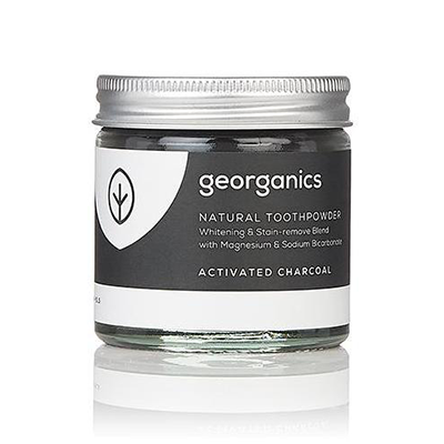 Natural Toothpowder - Activated Charcoal | Georganics