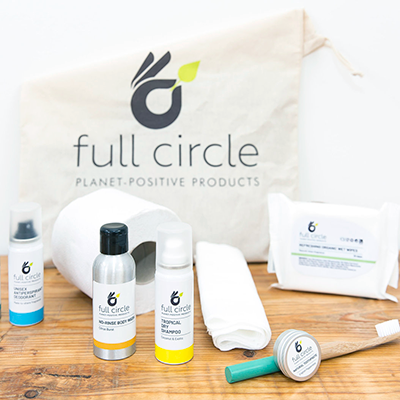 Full Circle - Eco-Friendly Festival Hygiene Kit