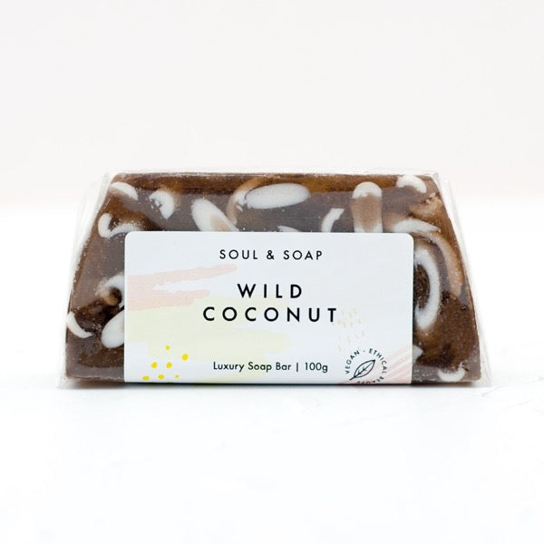 Wild Coconut Lux Soap Bar | Soul And Soap