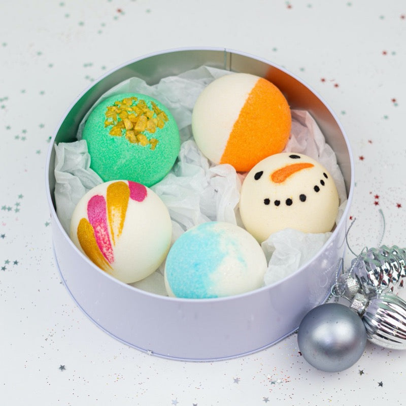 Soul And Soap Christmas Bath Bombs