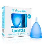 Lunette Menstrual Cup - Blue Model 2