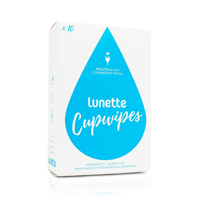 Lunette Menstrual Cup Wipes
