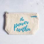 Lunette Cotton Pouch The Power Within