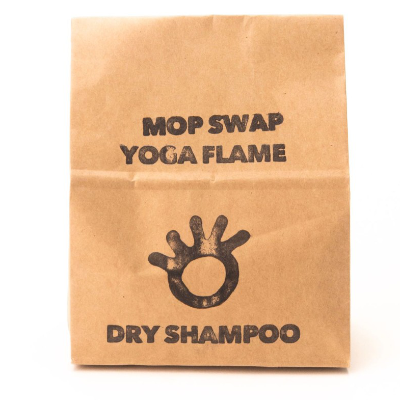 Primal Suds plastic free dry shampoo for redder hair yoga flame
