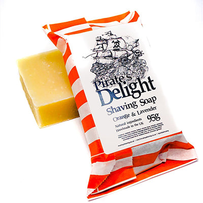 Pirate's Delight Orange & Lavender Shaving Soap
