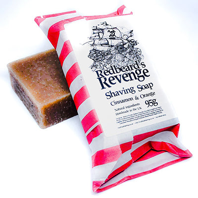 Redbeard's Revenge Cinnamon & Orange Shaving Soap