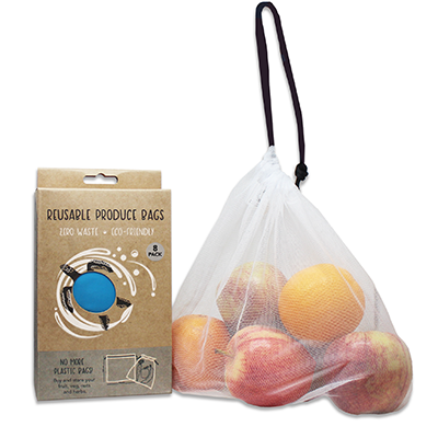 Reusable Produce Bags Blue (8pk) | Our Future Is Green