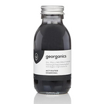 Oil pulling mouthwash - Activated Charcoal | Georganics