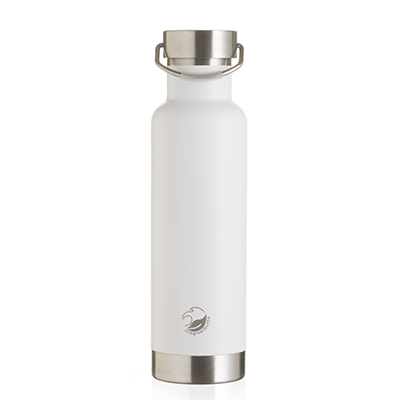 One Green Bottle White Thermal Bottle - 600ml