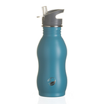 Curvy Stainless Steel Bottle - Teal (500ml) | One Green Bottle