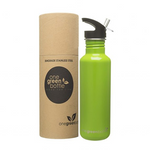 One Green Bottle Stainless Steel Bottle - Canteen Apple (800ml)