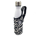 One Green Bottle 500ml Isothermal Zebra Jacket