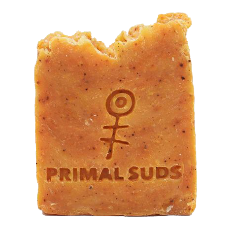 primal suds natural plastic free soap bar