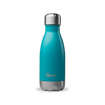 Qwetch Insulated Stainless Steel Bottle - Turquoise (260ml)